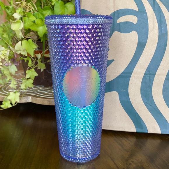Studded Blue Ombré Starbucks Summer Cup